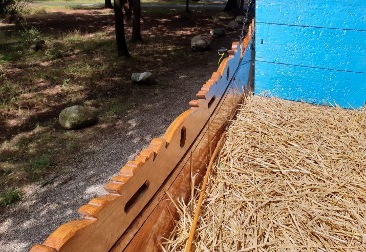 detail boerenwagen
