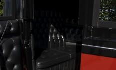 interieur van koets voor 4 personen